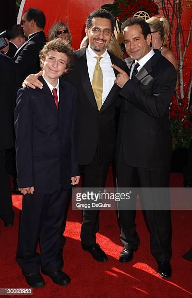 John Turturro with son Amedeo and Tony Shalhoub