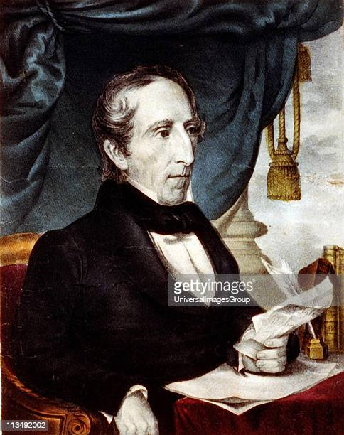 John Tyler 10th President of the United States of America 18411845 The Annexation of Mexico took place during his administration Currier Ives...