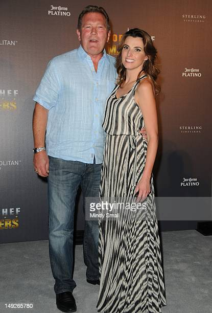 John Unwin and Lisa Marchese attend the Top Chef Masters Season 4 Premiere Party at The Cosmopolitan Of Las Vegas on July 25 2012 in Las Vegas Nevada
