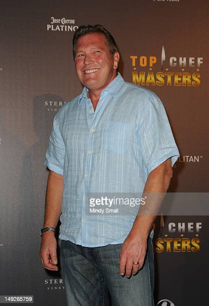 John Unwin attends the Top Chef Masters Season 4 Premiere Party at The Cosmopolitan Of Las Vegas on July 25 2012 in Las Vegas Nevada