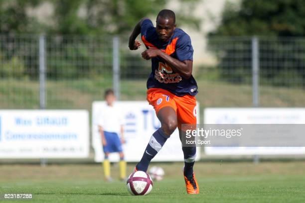 John UTAKA - - Montpellier / Selection Lozere -Meze - Match Amical - Preparation Ligue 1 - 2011/2012 -