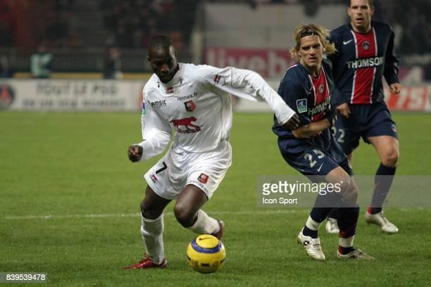 John UTAKA / Jerome ROTHEN - - PSG / Rennes - 18e journee Ligue 1,