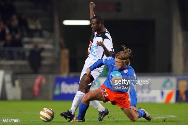 John UTAKA / Nicolas GODEMECHE - Montpellier / Rennes - -16 eme de Finale de la coupe de la Ligue ,