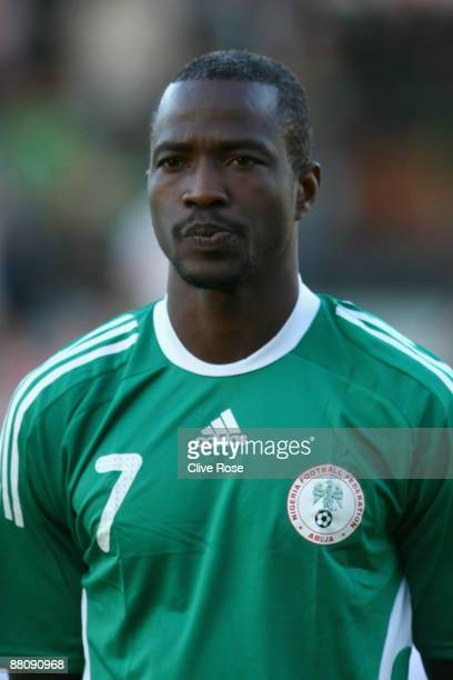 John Utaka of Nigeria during an International Friendly match between Republic of Ireland and Nigeria at Craven Cottage on May 29, 2009 in London,...