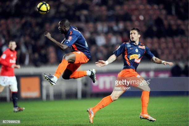 John UTAKA / Olivier GIROUD - - Paris Saint Germain / Montpellier - 27e journee Ligue 1,
