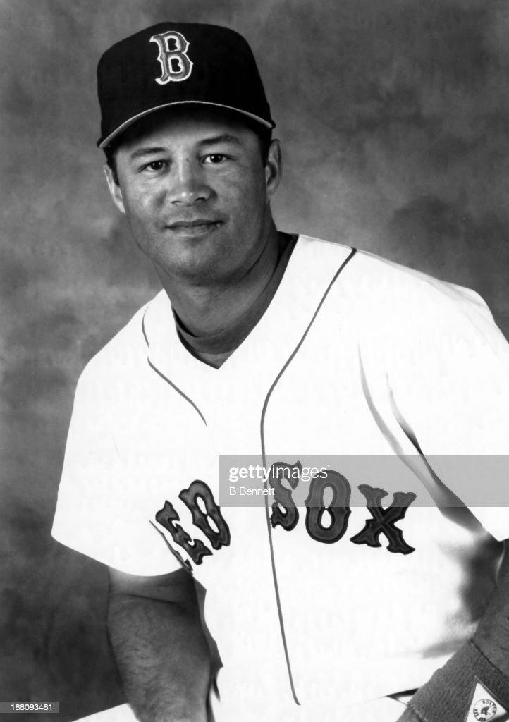 Perfekt John Valentin Of The Boston Red Sox Poses For A Portrait In March 1994 In  Boston