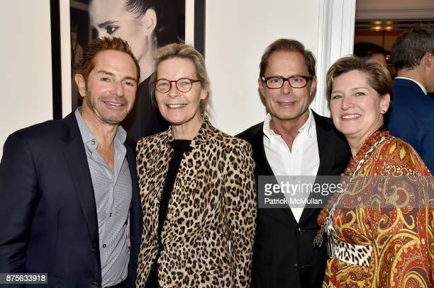 John Varman Mona Arnold Kelly Graham and Michelle Edelman attend Edelman Arts The Infamous Rose Hartman at Edelman Arts on November 17 2017 in New...