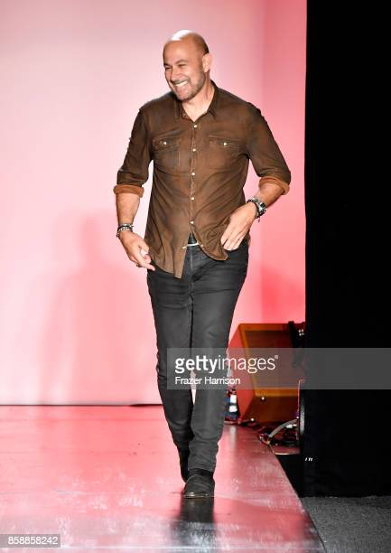 John Varvatos at the John Varvatos Fashion Show at South Coast Plaza on October 7 2017 in Costa Mesa California