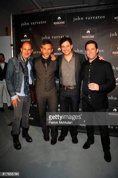 John Varvatos Brad Beckerman Jimmy Kimmel and Matt Welch attend JOHN VARVATOS AND STILLHOUSE CELEBRATE A DECADE OF JOHN VARVATOS AND THE LAUNCH OF...