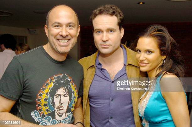 John Varvatos Jason Patric and Tia Texada during John Varvatos New Fragrance For Men Party at Canal Room in New York City New York United States