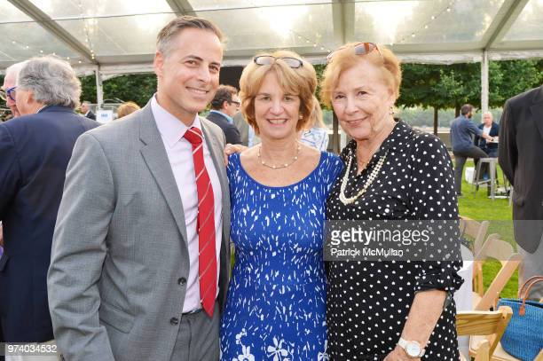 John Veracoechea Kathleen Kennedy Townsend and Carol Veracoechea attend the Franklin D Roosevelt Four Freedoms Park's gala honoring Founder...