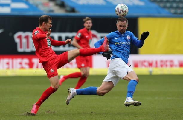 DEU: Hansa Rostock v 1. FC Kaiserslautern - 3. Liga