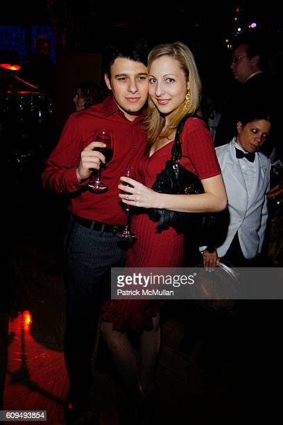 "John Viola and Gina Sacco attend PRESTON BAILEY ""Inspirations"" Book Launch Party at Rainbow Room on January 31, 2007 in New York City."