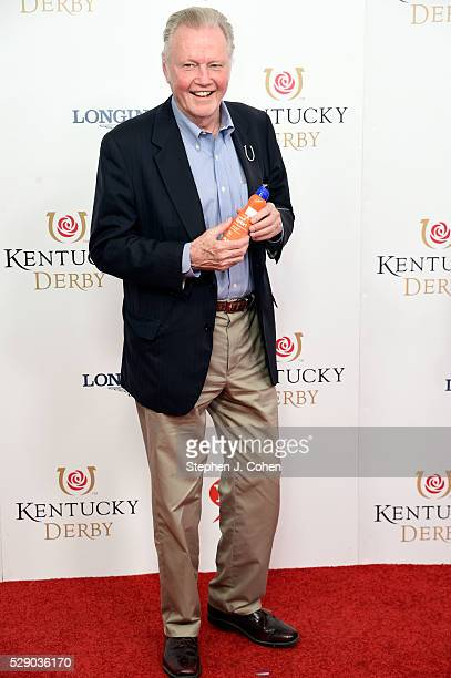 John Voight attends the 142nd Kentucky Derby at Churchill Downs on May 7 2016 in Louisville Kentucky