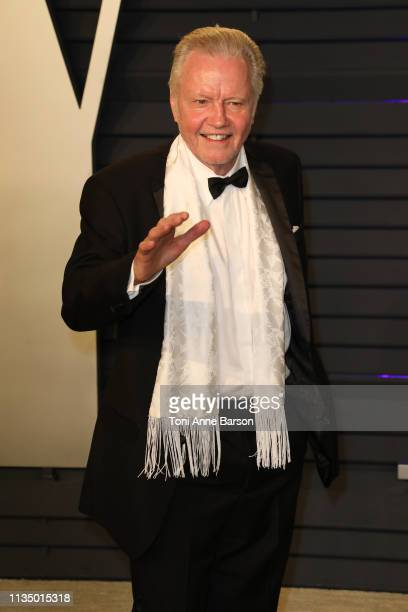 John Voight attends the 2019 Vanity Fair Oscar Party hosted by Radhika Jones at Wallis Annenberg Center for the Performing Arts on February 24 2019...
