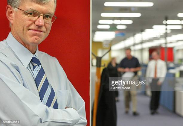 John Wadeson General Manager of New Business Solutions at the Centrelink office in Canberra 5 May 2004 AFR Picture by PENNY BRADFIELD