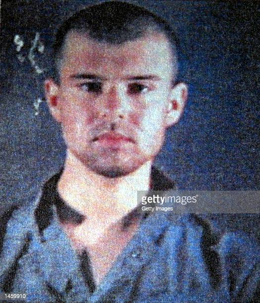 John Walker Lindh is seen in this police department photo released February 6 2002 by the Alexandria County Sheriff's Department in Alexandria...