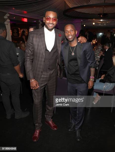 John Wall and Klutch Sports Founder Rich Paul attend the Klutch Sports Group More Than A Game Dinner Presented by Remy Martin at Beauty Essex on...
