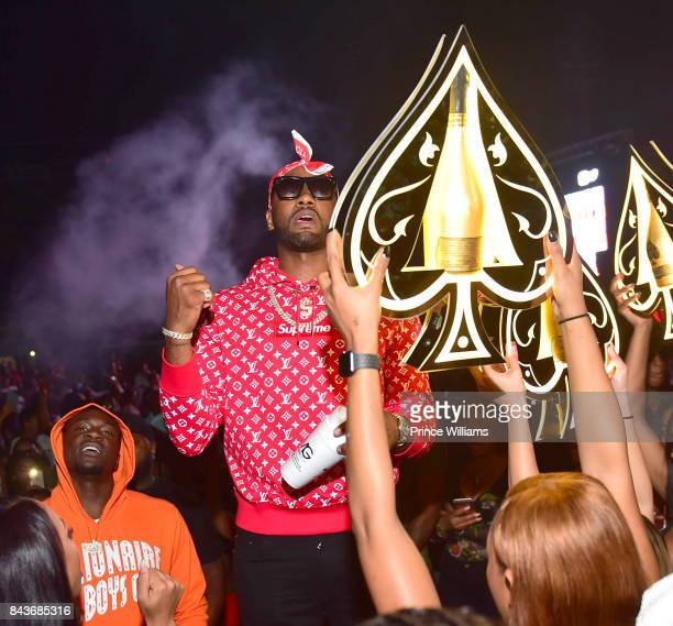 John Wall attends the Luda birthday celebration at Compound on September 3 2017 in Atlanta Georgia
