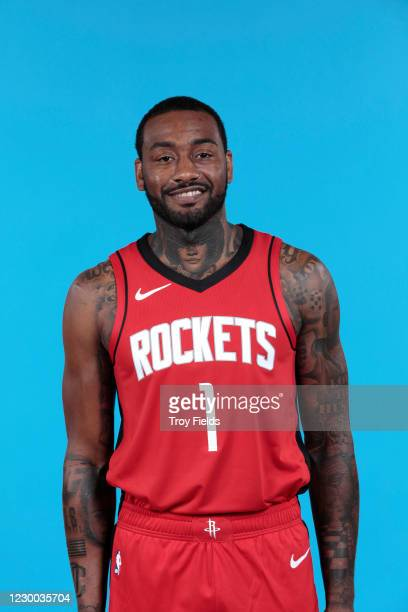 John Wall of the Houston Rockets poses for a head shot during Content Day at the Toyota Center on December 8, 2020 in Houston, Texas. NOTE TO USER:...