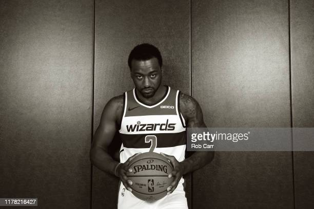 John Wall of the Washington Wizards poses during media day at Medstar Wizards Performance Center on September 30 2019 in Washington DC NOTE TO USER...