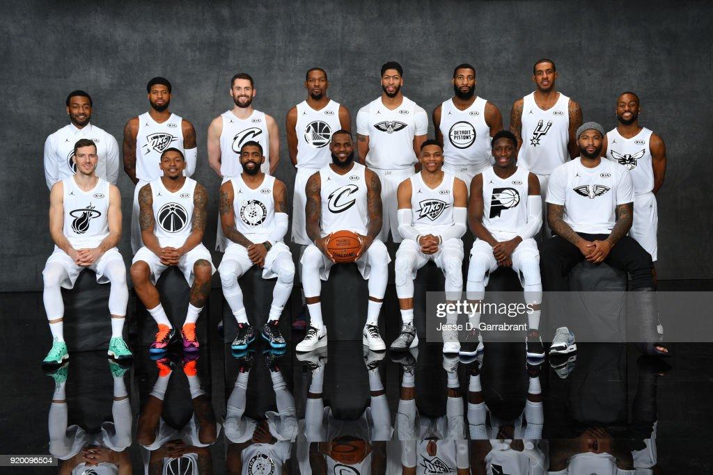 2018 NBA All-Star Game Portraits : News Photo