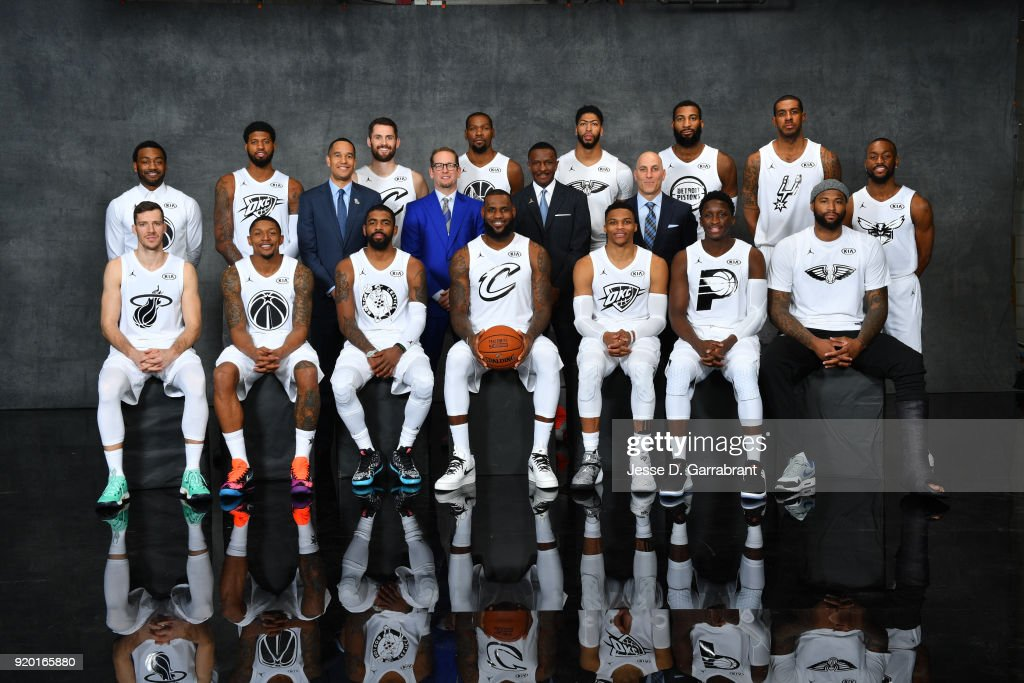 ¿Cuánto mide Anthony Davis? - Real height John-wall-paul-george-kevin-love-kevin-durant-anthony-davis-andre-picture-id920165880