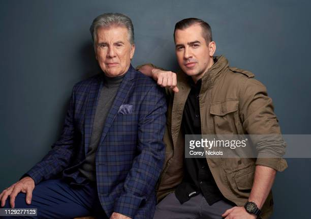 John Walsh and Callahan Walsh of Investigation Discovery's 'In Pursuit With John Walsh' pose for a portrait during the 2019 Winter TCA at The Langham...