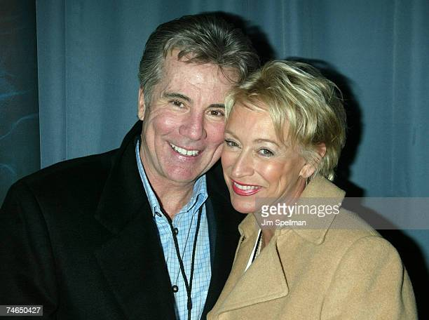 John Walsh and wife Reve at the Loews Lincoln Square Imax Theater in New York City New York