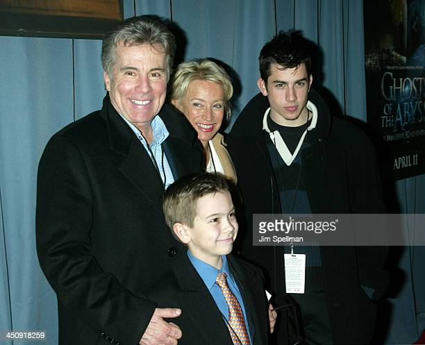 John Walsh with wife Reve and sons Callahan and Hayden
