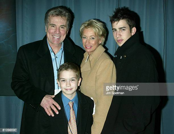 John Walsh with wife Reve sons Callahan and Hayden