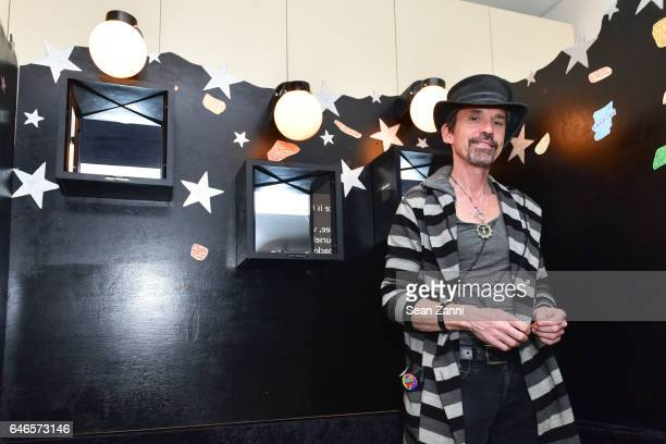 John Walter attends Spring Break Art Fair 2017 Vernissage at 4 Times Square on February 28 2017 in New York City