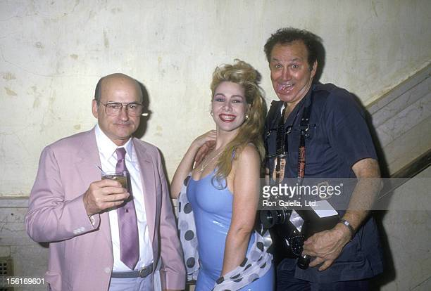 John Warhola Dianne Brill and Photographer Ron Galella attend the Party to Celebrate Andy Warhol's and Pat Hackett's New Book 'Andy Warhol's Party...