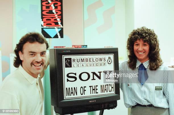 John Wark, Middlesbrough FC Player, Rumbelows League Cup, Man of the Match, September 1990. .
