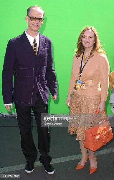 John Waters and Patty Hearst during The 19th Annual IFP Independent Spirit Awards - Arrivals at Santa Monica Pier in Santa Monica, California, United...