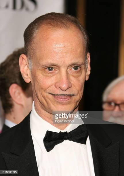John Waters arrives at the 62nd Annual Tony Awards held at Radio City Music Hall on June 15 2008 in New York City