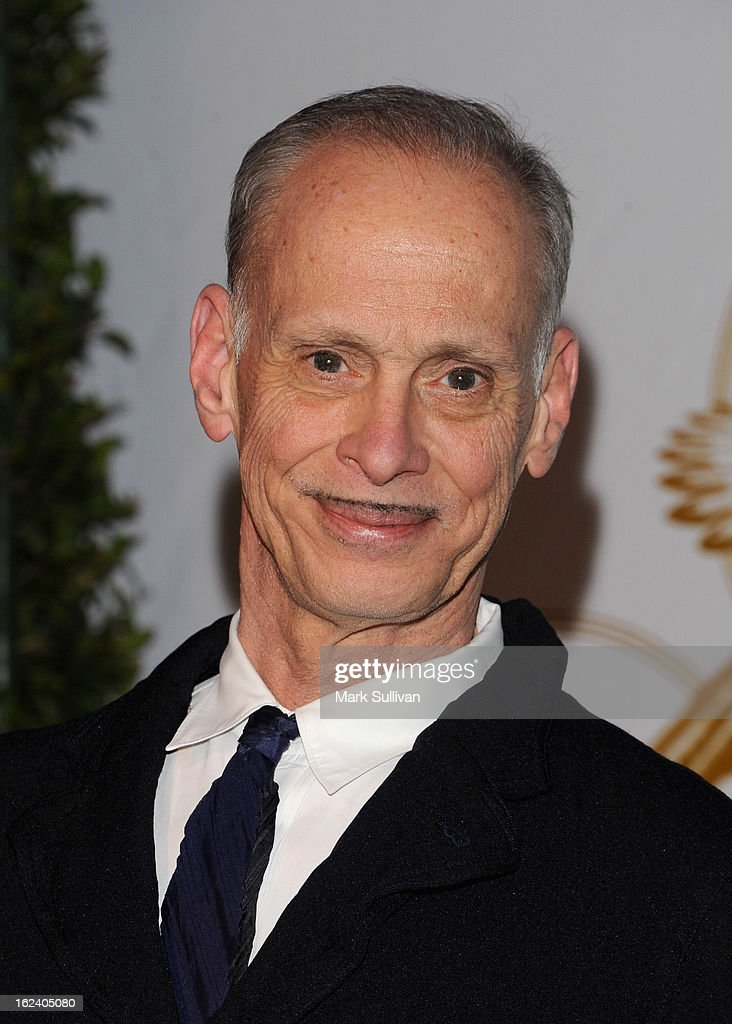 John Waters arrives at the LOVEGOLD cocktail party to celebrate 'How To Survive A Plague' at Chateau Marmont on February 22, 2013 in Los Angeles, California.