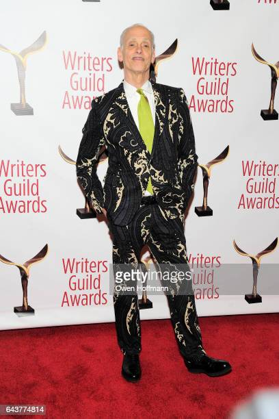 John Waters attends 69th Writers Guild Awards at Edison Ballroom on February 19 2017 in New York City