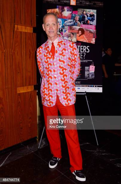 John Waters attends an after party to celebrate Film Society of Lincoln Center's retrospective celebrating John Waters at Stone Rose Lounge on...