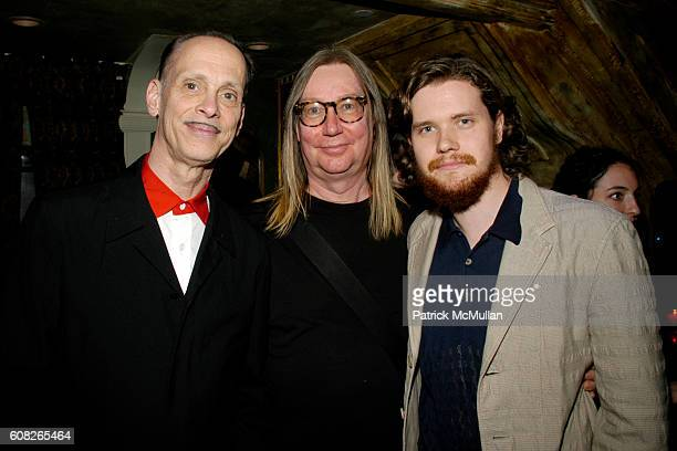 John Waters Dennis Dermody and Jack Dafoe attend A Theater of Varieties THE WOOSTER GROUP Benefit Sponsored by MAC and The BOX Produced by Tanya...