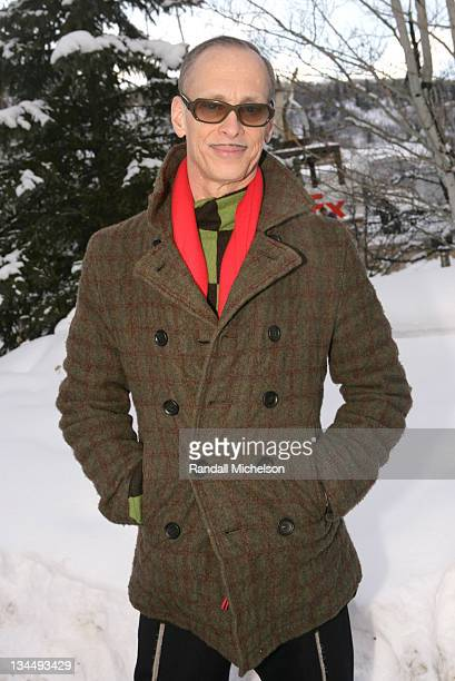 John Waters during 2006 Sundance Film Festival John Waters Outdoor Portraits in Park City Utah United States