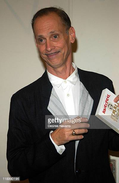 John Waters during John Waters Signs His Book 'Hairspray Female Trouble and Multiple Maniacs' at Barnes Noble in New York October 13 2005 at Barnes...
