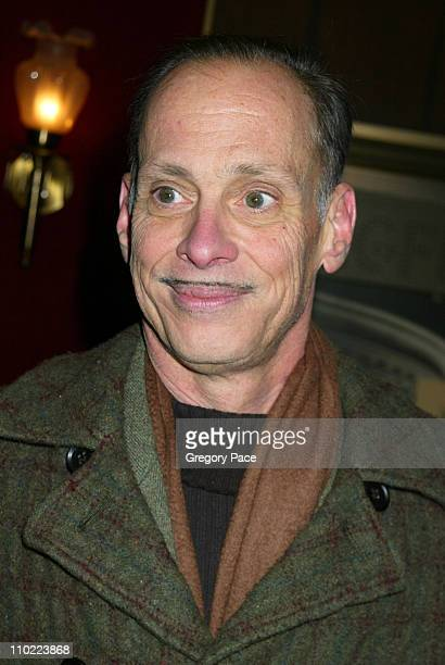 John Waters during 'Raging Bull' 25th Anniversary and Collector's Edition DVD Release Celebration Inside Arrivals at Ziegfeld Theater in New York...