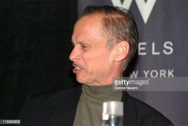 John Waters during W Hotel Hosts 'Adventures in Wonderland' Film Discussion Panel at W Hotel Union Square in New York City New York United States