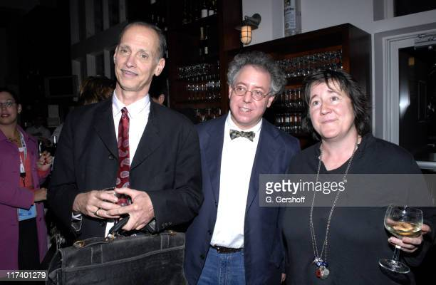 John Waters James Schamus and Christine Vachon during 14th Annual Hamptons International Film Festival Industry Toast to Ted Hope at East Hampton...