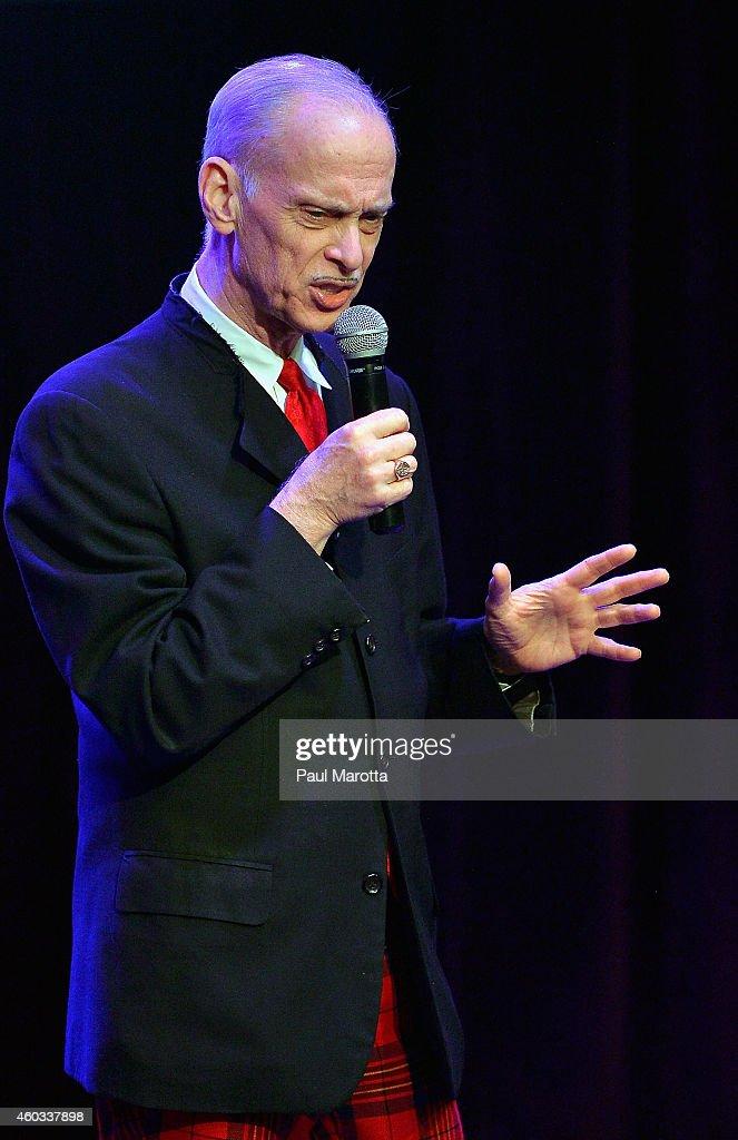 John Waters performs \'A John Waters Christmas\' at The Royale Boston ...