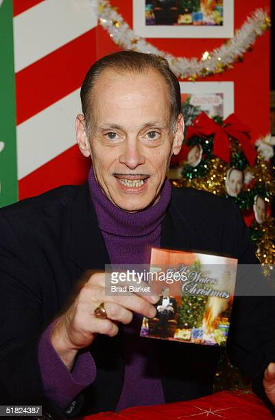 john waters signs his new cd john waters christmas at tower records december - John Waters Christmas