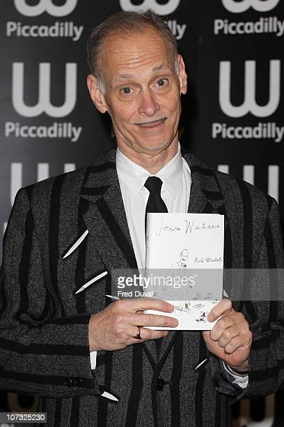 John Waters signs of his new book 'Role Models' at Waterstone's Piccadilly on December 4 2010 in London England