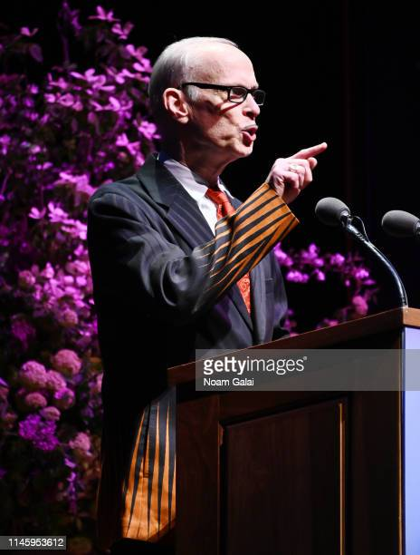 John Waters speaks onstage at the Film Society Of Lincoln Center's 50th Anniversary Gala at Lincoln Center on April 29 2019 in New York City