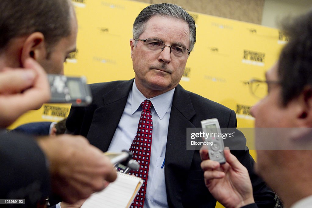 John Watson Chairman And Chief Executive Officer Of Chevron Corp Speaks To The